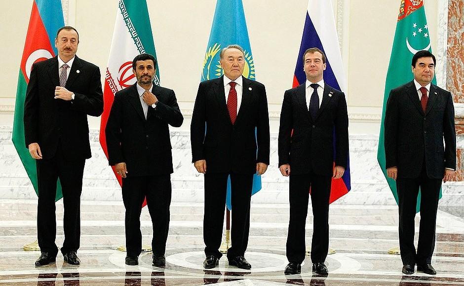 Третий Каспийский саммит в г. Баку (18 ноября 2010 г.)