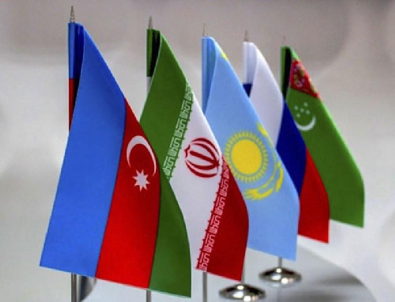 Флаги государств «Каспийской пятерки»