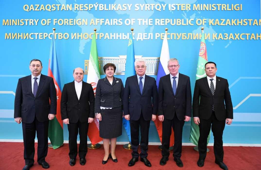 Рабочей группы высокого уровня по вопросам Каспийского моря (Нур-Султан, Казахстан)
